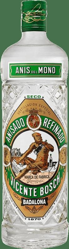 9,95 € 免费送货 | 八角 Anís del Mono 干 西班牙 瓶子 70 cl