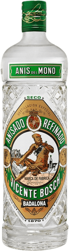 9,95 € Free Shipping | Aniseed Anís del Mono Dry Spain Bottle 70 cl