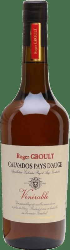 86,95 € Envío gratis | Calvados Roger Groult Venerable Francia Botella 70 cl