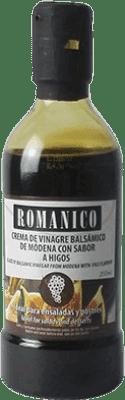 3,95 € Envío gratis | Vinagre Actel Románico Crema Higos España Botellín 25 cl
