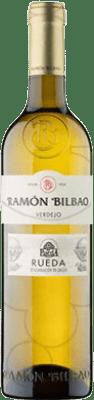 4,95 € Free Shipping | White wine Ramón Bilbao Joven D.O. Rueda Castilla y León Spain Verdejo Half Bottle 50 cl