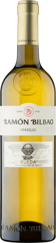 13,95 € Free Shipping | White wine Ramón Bilbao Joven D.O. Rueda Castilla y León Spain Verdejo Magnum Bottle 1,5 L