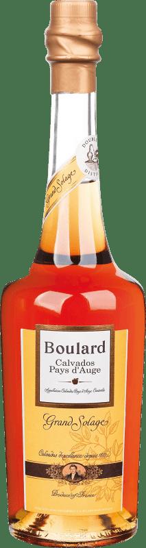 29,95 € 免费送货 | 卡尔瓦多斯 Calvados Boulard Grand Solage 法国 瓶子 70 cl