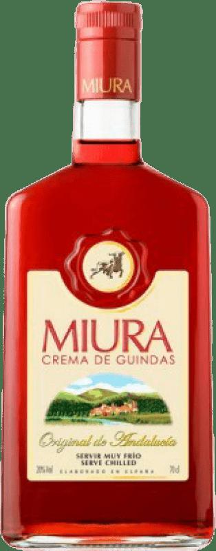 9,95 € 免费送货 | Pacharán Miura Crema de Guindas 西班牙 瓶子 70 cl