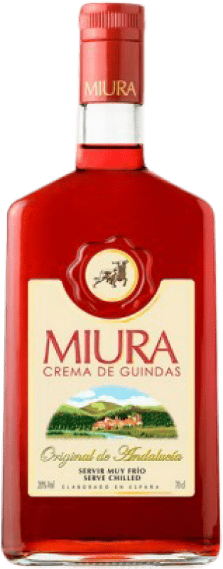 9,95 € Free Shipping | Pacharán Miura Crema de Guindas Spain Bottle 70 cl