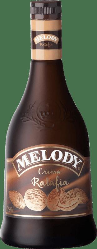 10,95 € Free Shipping | Liqueur Cream Campeny Crema de Ratafia Melody Spain Bottle 70 cl
