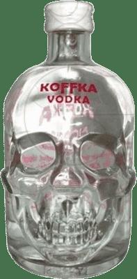 14,95 € Envío gratis | Vodka Campeny Koffka España Media Botella 50 cl