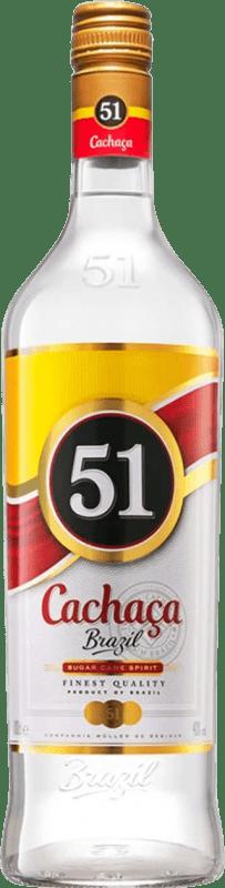 13,95 € | Cachaza Marie Brizard Cachaça 51 Brazil Missile Bottle 1 L
