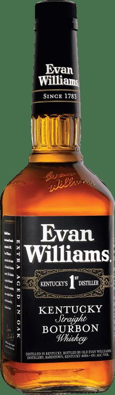 14,95 € Envío gratis   Bourbon Marie Brizard Evan Williams Estados Unidos Botella 70 cl