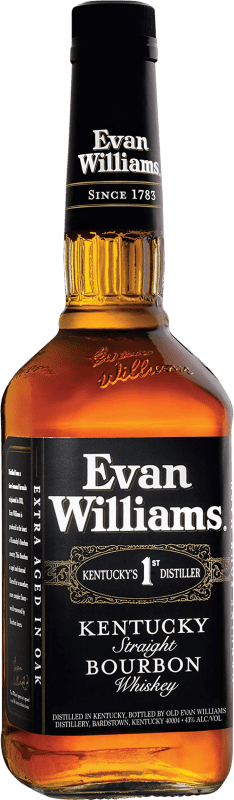 14,95 € | Bourbon Marie Brizard Evan Williams United States Bottle 70 cl