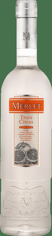 25,95 € Envoi gratuit | Triple Sec Merlet Trois Citrus France Bouteille 70 cl