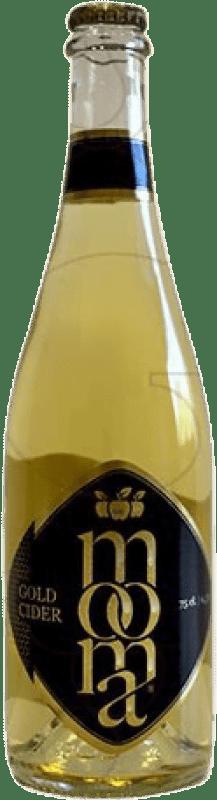 6,95 € Envío gratis | Sidra Moma Gold España Botella 75 cl