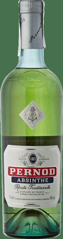 39,95 € 免费送货   苦艾酒 Pernod 法国 瓶子 70 cl