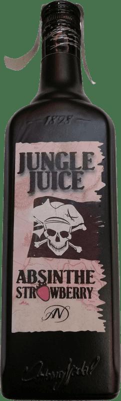 9,95 € Envío gratis | Absenta Strawberry Jungle España Botella 70 cl