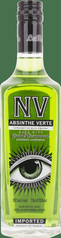 26,95 € 免费送货   苦艾酒 Verte NV 法国 瓶子 70 cl