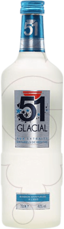 9,95 € Free Shipping | Pastis 51 Glacial France Bottle 70 cl