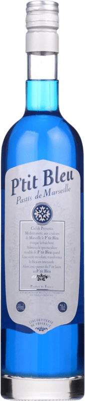 14,95 € Free Shipping | Pastis Petit Bleu France Bottle 70 cl