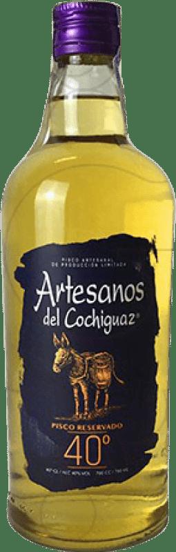 16,95 € 免费送货 | Pisco Artesanos del Cochiguaz 智利 瓶子 70 cl