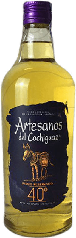 16,95 € Free Shipping | Pisco Artesanos del Cochiguaz Chile Bottle 70 cl
