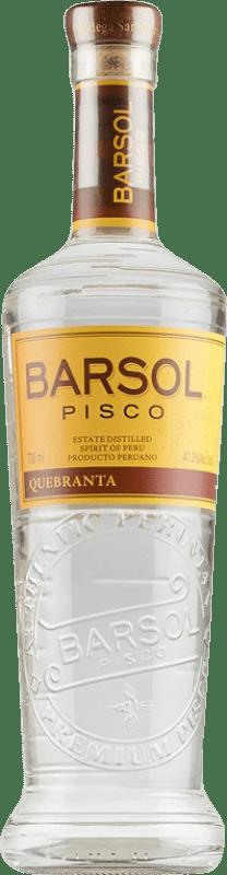 29,95 € 免费送货 | Pisco San Isidro Barsol Primero Quebranta 秘鲁 瓶子 75 cl