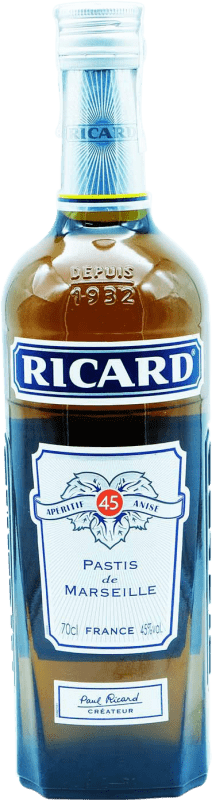 22,95 € | Pastis Pernod Ricard Kósher France Bottle 70 cl
