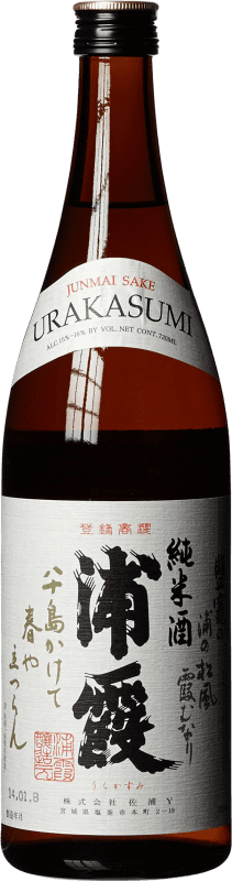 29,95 € Free Shipping | Sake Urakasumi Japan Bottle 72 cl