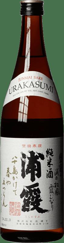 29,95 € Envío gratis | Sake Urakasumi Japón Botella 72 cl