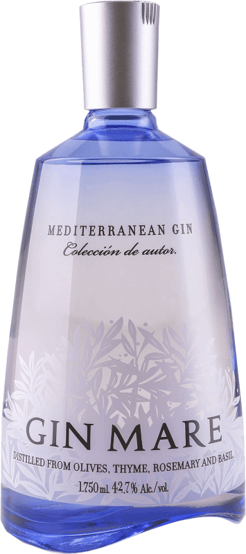 65,95 € Free Shipping | Gin Gin Mare Spain Magnum Bottle 1,75 L