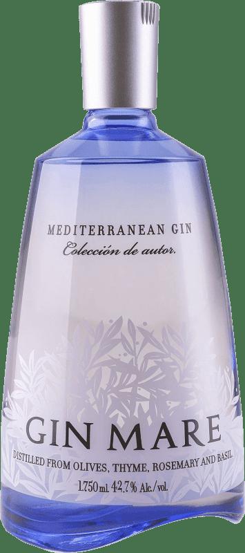 65,95 € 免费送货 | 金酒 Gin Mare 西班牙 瓶子 Magnum 1,75 L
