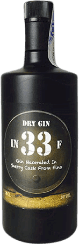 34,95 € Free Shipping | Gin In 33 F Gin Spain Bottle 70 cl