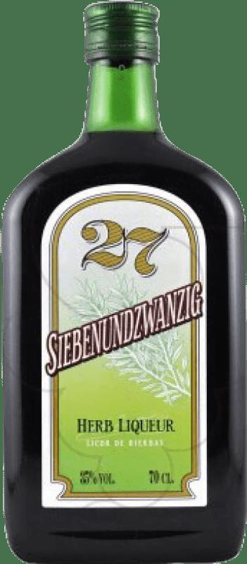 8,95 € Free Shipping | Digestive 27 Siebenundzwanzic Spain Bottle 70 cl