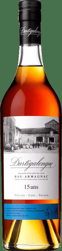 77,95 € Envío gratis   Armagnac Dartigalongue 15 Años Francia Botella 70 cl