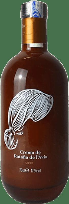 9,95 € Envío gratis | Crema de Licor Crema de Ratafia de l'Àvia España Botella 75 cl
