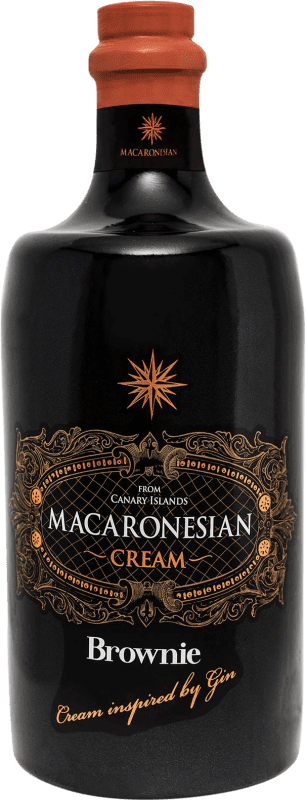 23,95 € | Liqueur Cream Macaronesian Brownie Cream Spain Bottle 70 cl