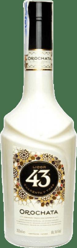 13,95 € Envío gratis | Crema de Licor Orochata España Botella 70 cl