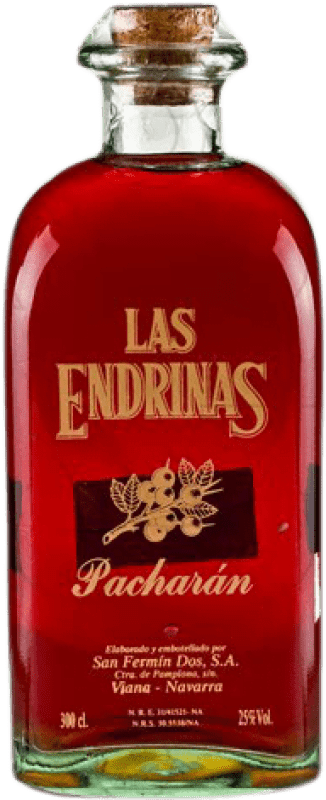 46,95 € Envoi gratuit | Pacharán Las Endrinas Espagne Bouteille Jéroboam-Doble Magnum 3 L