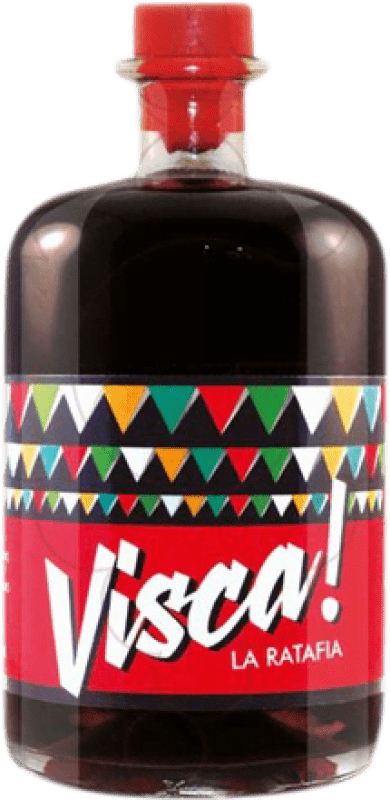 14,95 € Free Shipping | Digestive Ratafia Visca! Spain Bottle 70 cl