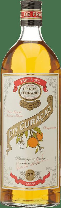 23,95 € Envío gratis | Triple Seco Pierre Ferrand Francia Botella 70 cl