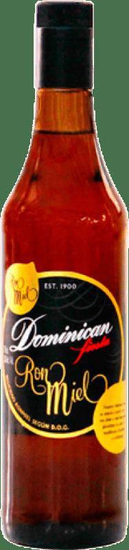 9,95 € 免费送货 | 朗姆酒 Dominican Miel 西班牙 瓶子 70 cl