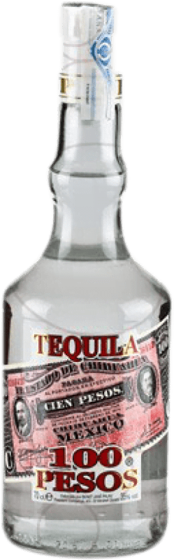 12,95 € Free Shipping | Tequila Cien Pesos Blanco Mexico Bottle 70 cl