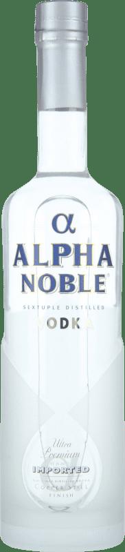 15,95 € Envoi gratuit | Vodka Alpha Noble France Bouteille 70 cl