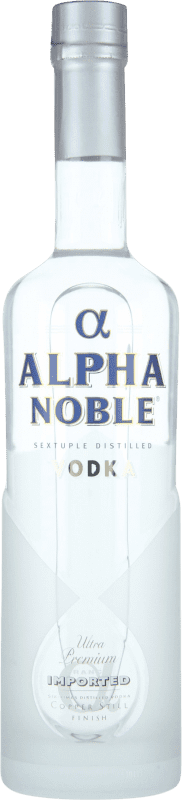 15,95 € Envío gratis | Vodka Alpha Noble Francia Botella 70 cl