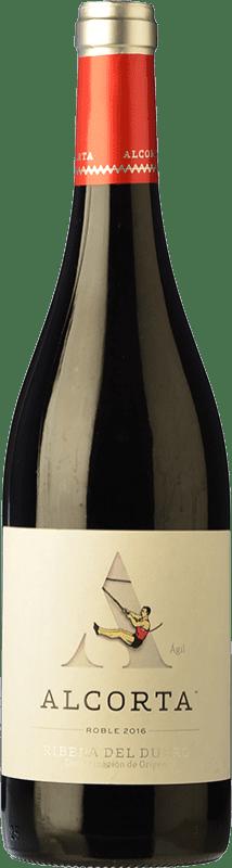 6,95 € Envío gratis | Vino tinto Campo Viejo Alcorta Roble D.O. Ribera del Duero Castilla y León España Tempranillo Botella 75 cl