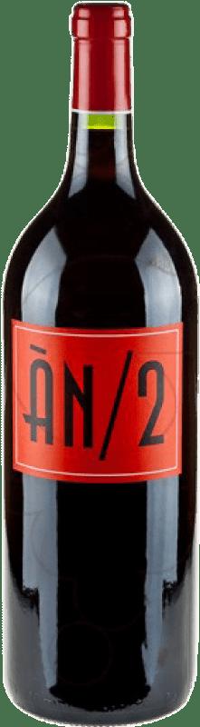 41,95 € | Red wine Ànima Negra An/2 Crianza I.G.P. Vi de la Terra de Mallorca Balearic Islands Spain Syrah, Callet, Fogoneu, Mantonegro Magnum Bottle 1,5 L