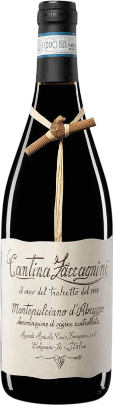 9,95 € Free Shipping | Red wine Zaccagnini Crianza Otras D.O.C. Italia Italy Montepulciano Bottle 75 cl