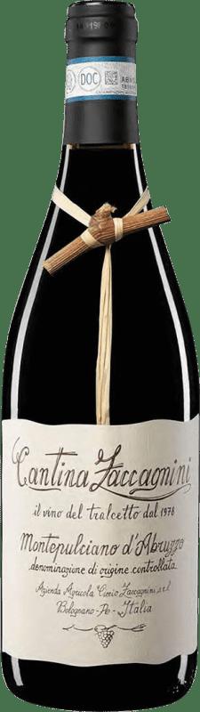 9,95 € Envío gratis | Vino tinto Zaccagnini Crianza Otras D.O.C. Italia Italia Montepulciano Botella 75 cl