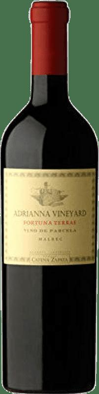 92,95 € 免费送货 | 红酒 Catena Zapata Adrianna Vineyard Fortuna Terrae 阿根廷 Malbec 瓶子 75 cl