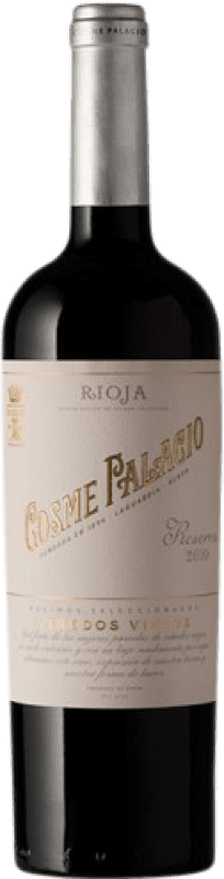 23,95 € Free Shipping | Red wine Palacio Cosme Palacio Reserva D.O.Ca. Rioja The Rioja Spain Tempranillo Bottle 75 cl