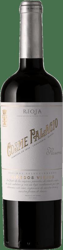 23,95 € Envío gratis | Vino tinto Palacio Cosme Palacio Reserva D.O.Ca. Rioja La Rioja España Tempranillo Botella 75 cl