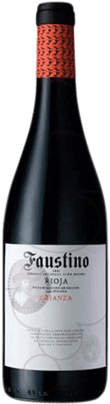 15,95 € | Red wine Faustino Crianza D.O.Ca. Rioja The Rioja Spain Tempranillo Magnum Bottle 1,5 L